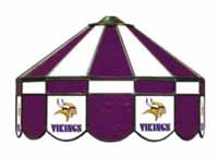 Minnesota Vikings NFL Single Swag Pool Table Lights