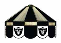 Oakland Raiders NFL Single Swag Pool Table Lights