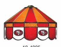 San Francisco 49ers NFL Single Swag Pool Table Lights