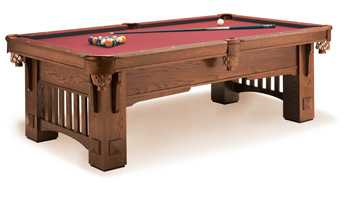coronado pool table