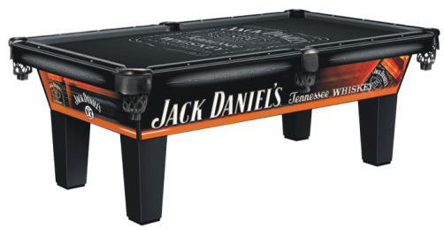 Jack daniels pool tables for Table jack daniels