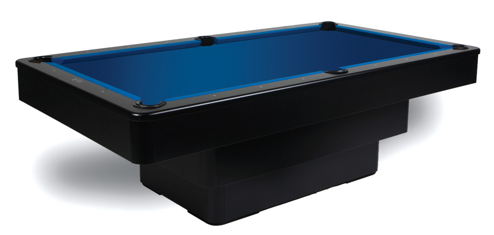 Black Maxim Pool Table Part Of The Modern Series - Black modern pool table