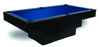 Black Maxim Pool Table