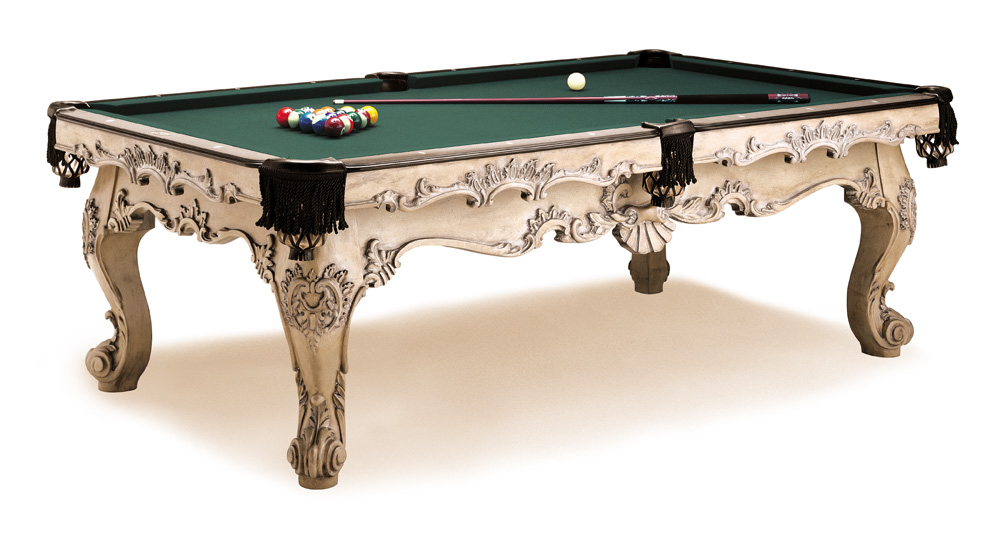 Carved Pool Tables Gallery Solid Wood Made in USA