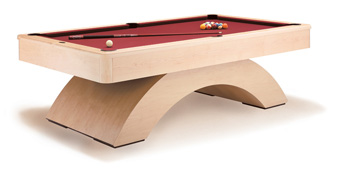 waterfall Pool Table