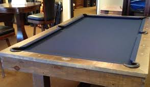 Rustic Pool Tables Handmade Rustic Beauties Can Be Yours - Olhausen breckenridge pool table