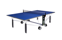 Model 25 Indoor Blue top ping pong table