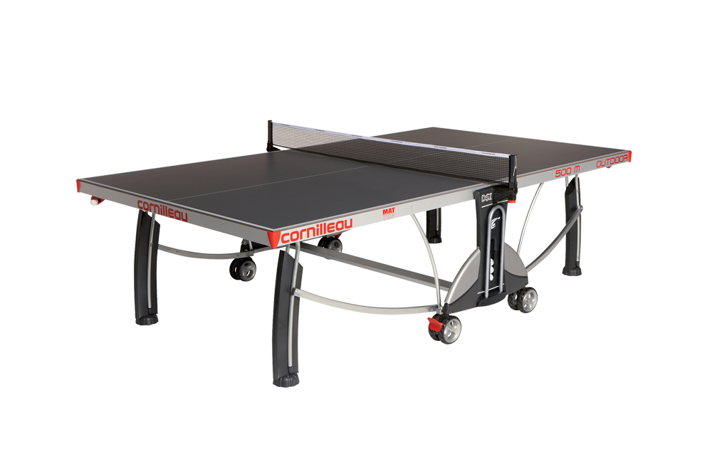 Slate Grey Cornilleau 500m Outdoor Ping Pong Table