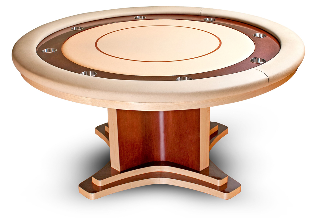 Cleopatra Round 60 Inch Poker Table