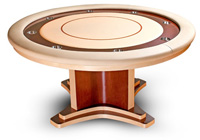cleopatra eight person  poker table