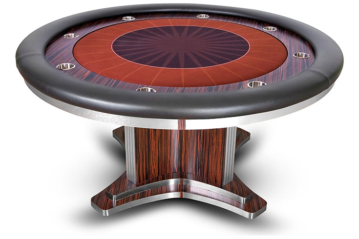 Luxor Executive Poker Table Custom Option Available