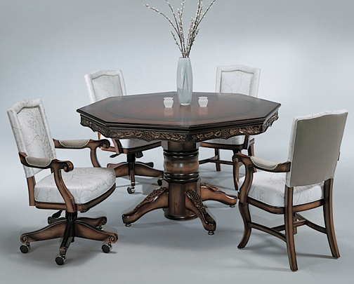 chateau combination dining table