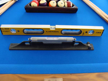 Pool Table Leveling