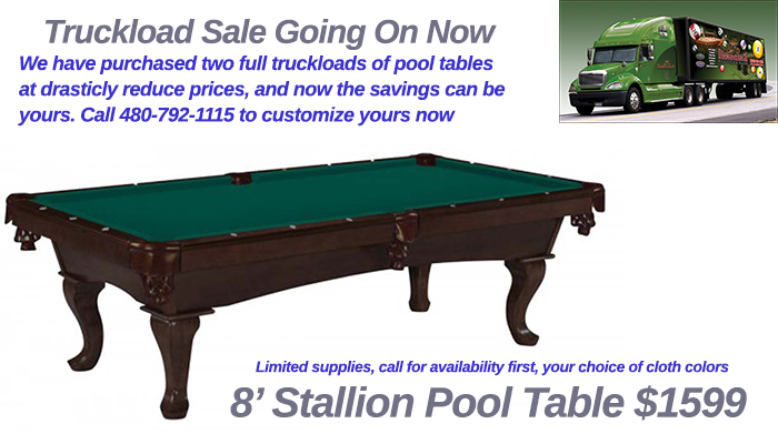 legacy pool table