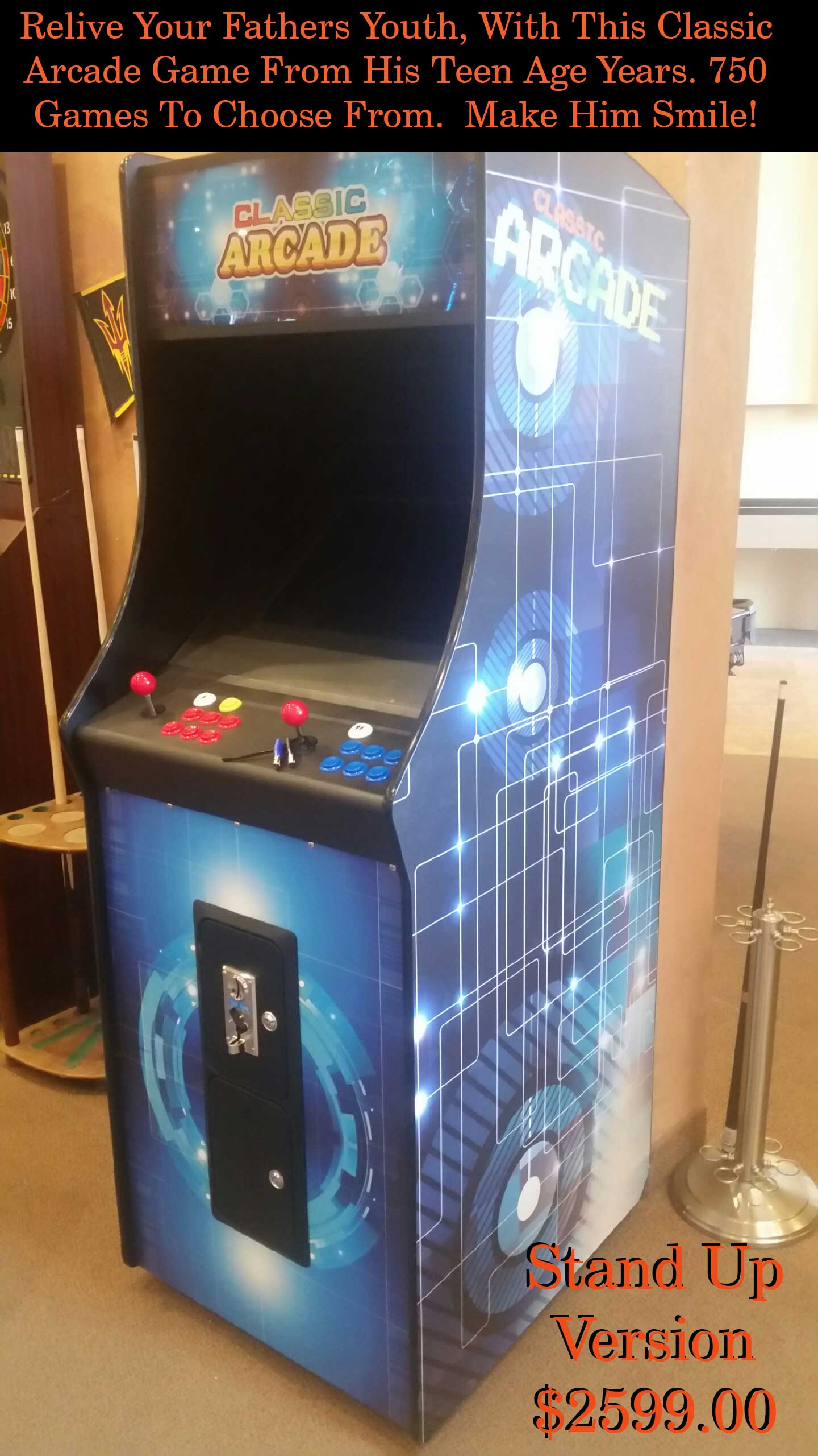 stand up arcade