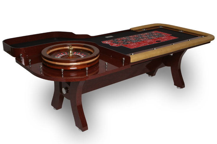 H Type Custom Roulette Table