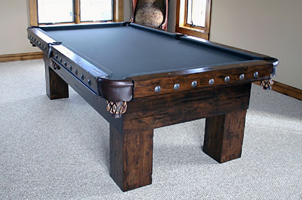 Rustic Pool Tables Handmade Rustic Beauties Can Be Yours - Handmade pool table