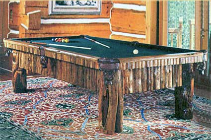 bitteroot pool table