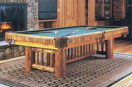 madison rustic pool tabkle