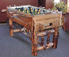 wilderness foosball table