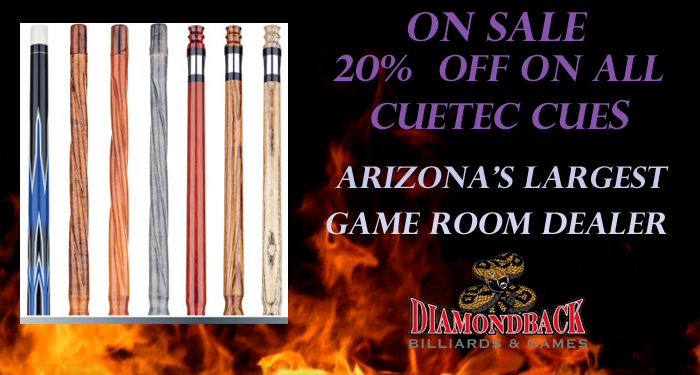 Diamondback Billiards : cuetec sale from www.diamondbackbilliards.com size 700 x 375 png 291kB